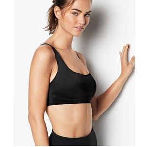 NWT Victoria Secret Sport bra with lace up back